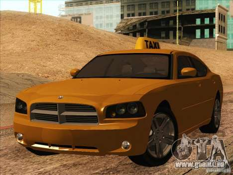 Dodge Charger STR8 Taxi pour GTA San Andreas
