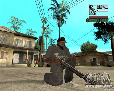 Millenias Weapon Pack für GTA San Andreas dritten Screenshot