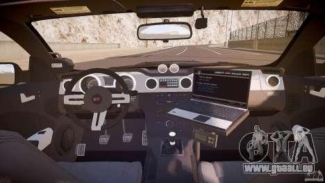Saleen S281 Extreme Unmarked Police Car - v1.1 für GTA 4 obere Ansicht