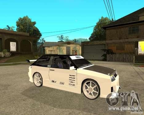 VAZ 2108 extrême pour GTA San Andreas vue de droite