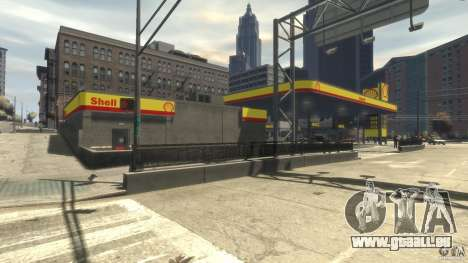 Shell Petrol Station für GTA 4 weiter Screenshot