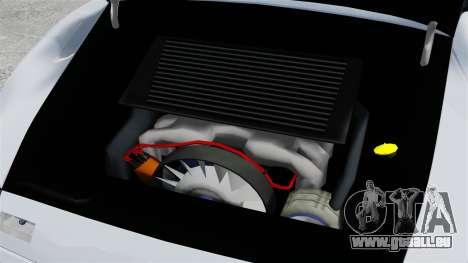 Porsche 993 GT2 1996 für GTA 4 Innenansicht