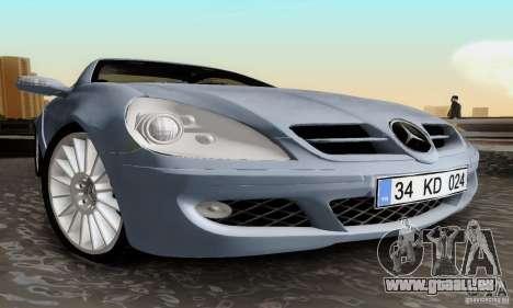 Mercedes-Benz SLK 55 AMG pour GTA San Andreas vue de droite