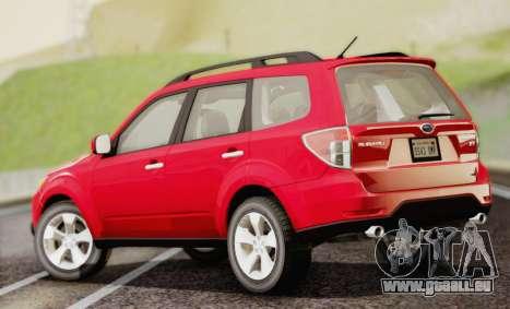 Subaru Forester XT 2008 für GTA San Andreas linke Ansicht