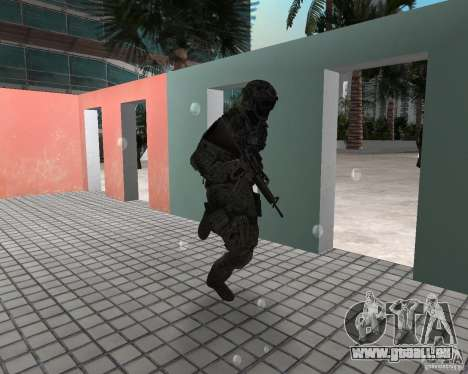 Frost von CoD MW3 für GTA Vice City zweiten Screenshot
