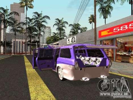 Lowrider GAZ 24-12 pour GTA San Andreas vue de droite