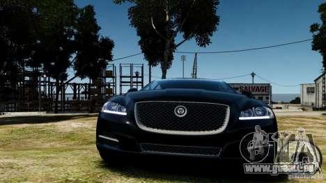 Jaguar XJ 2012 für GTA 4 Rückansicht