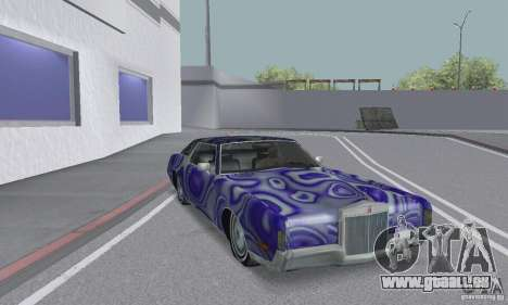 Lincoln Continental Mark IV 1972 für GTA San Andreas Innen