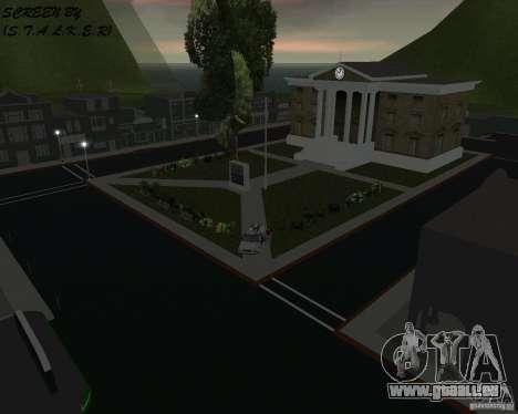 Retour à la future vallée de Hill GTA Vice City pour la deuxième capture d'écran