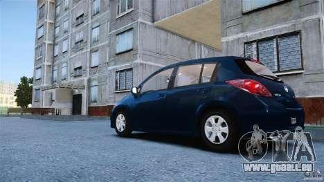 Nissan Versa pour GTA 4 est une gauche