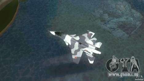 Vice City Air Force pour une vue GTA Vice City de l'intérieur