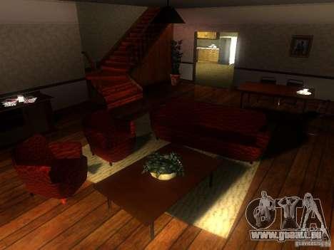 CJ maison nouvelle pour GTA San Andreas deuxième écran
