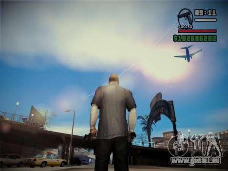Qualität Blendung durch die Sonne für GTA San Andreas zweiten Screenshot
