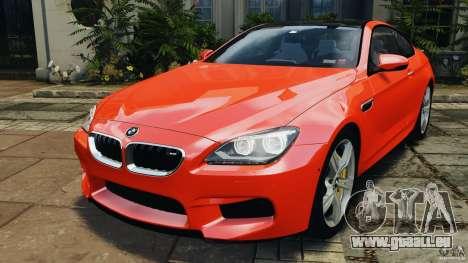 BMW M6 F13 2013 v1.0 pour GTA 4