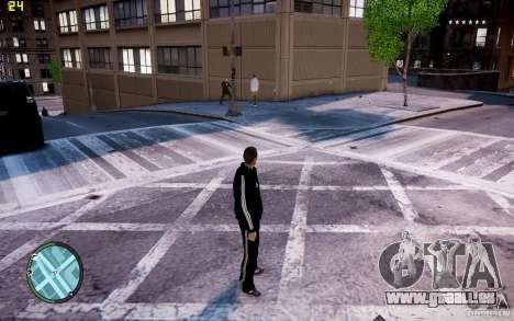 Costume de ADIDAS pour GTA 4 quatrième écran