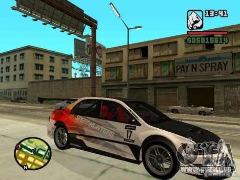 Mitsubishi Lancer Evo IX SpeedHunters Edition pour GTA San Andreas