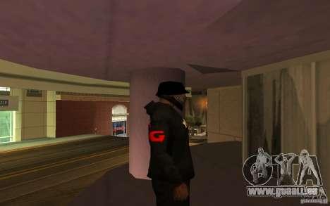 Veste-Point (G) pour GTA San Andreas quatrième écran