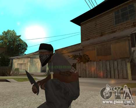 New knife für GTA San Andreas zweiten Screenshot