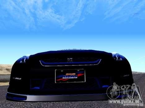 Nissan Skyline R35 Drift Tune für GTA San Andreas Rückansicht