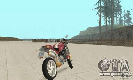 Ducati Monster S4R für GTA San Andreas linke Ansicht