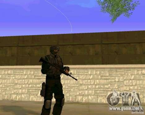 Die Haut der ukrainischen Spezialeinheiten für GTA San Andreas dritten Screenshot
