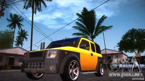 Honda Element LX für GTA San Andreas