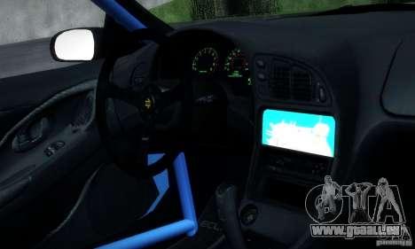 Mitsubishi Eclipse GSX 1999 pour GTA San Andreas vue arrière