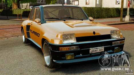 Renault 5 Turbo pour GTA 4