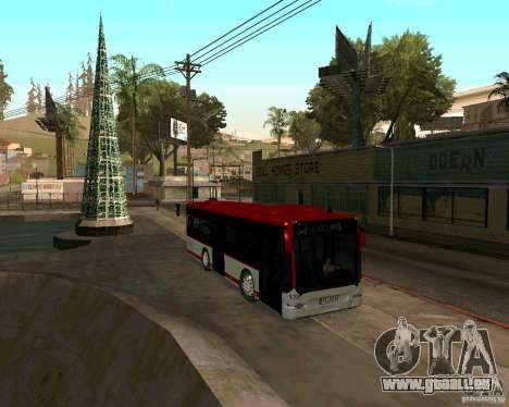 Mercedes-Benz Citaro K E5 pour GTA San Andreas laissé vue