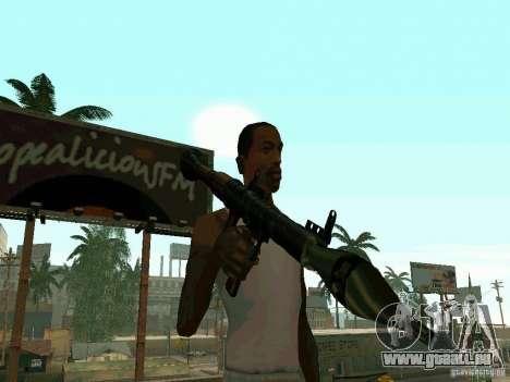 RPG de BF2 pour GTA San Andreas deuxième écran