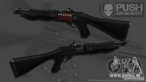 SPAS-12 Tactical pour GTA 4 secondes d'écran
