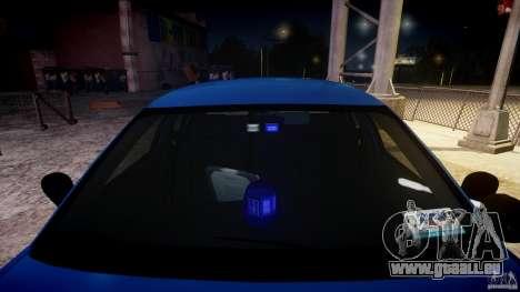 Ford Crown Victoria Detective v4.7 [ELS] pour GTA 4 est un côté