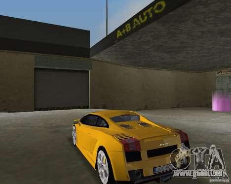 Lamborghini Gallardo v.2 pour une vue GTA Vice City de la gauche