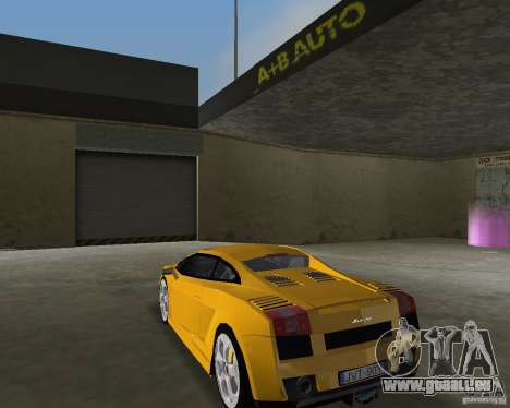 Lamborghini Gallardo v.2 für GTA Vice City linke Ansicht