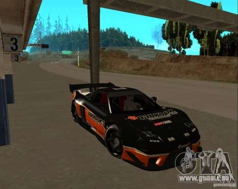Acura NSX Sumiyaka pour GTA San Andreas vue intérieure