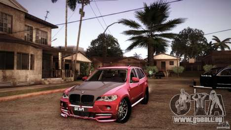 BMW X5 with Wagon BEAM Tuning pour GTA San Andreas