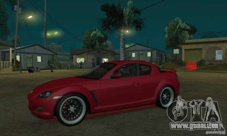 Roter Neon lights für GTA San Andreas her Screenshot