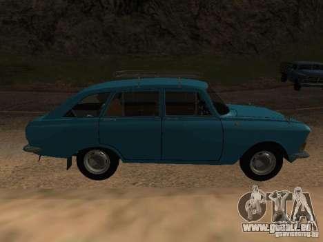 IZH 2125 v2 pour GTA San Andreas sur la vue arrière gauche