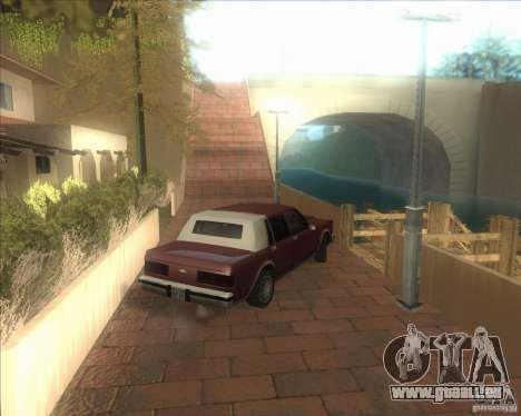 Mes paramètres ENBSeries HD pour GTA San Andreas quatrième écran