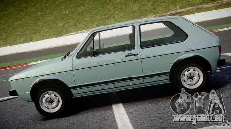 Volkswagen Golf Mk1 für GTA 4 linke Ansicht