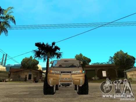 Ford Intruder 4x4 Concept + Caravan pour GTA San Andreas vue de droite