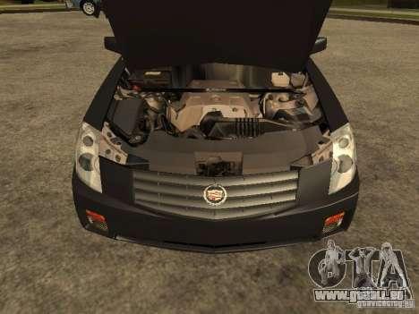 Cadillac CTS pour GTA San Andreas vue de droite