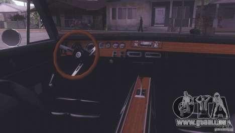 Dodge Charger R/T für GTA San Andreas zurück linke Ansicht