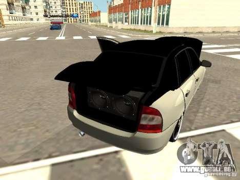 Lada Kalina pour GTA San Andreas vue arrière