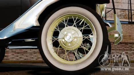 Ford Model T 1924 für GTA 4 Rückansicht