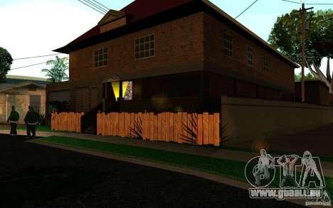 Maison Neuve sur Grove Street CJ pour GTA San Andreas deuxième écran