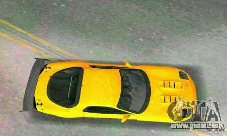 Mazda RX7 RE-Amemiya pour une vue GTA Vice City de l'intérieur
