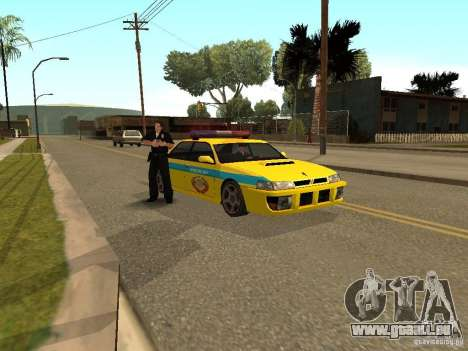 Sultan USSR Police pour GTA San Andreas