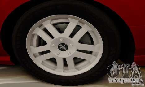 Ford Mustang 2010 für GTA San Andreas Seitenansicht