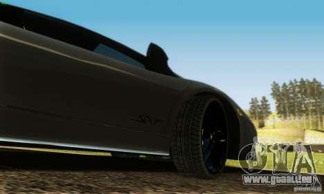Lamborghini Murcielago LP 670-4 SV pour GTA San Andreas vue de dessus